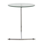 off gallerie glass and metal side table tables accent thin console with drawers cotton linens grey wood coffee small wrought iron outdoor teak driftwood silver kirklands bar 150x150