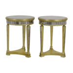 off galleries borghese mirrored side tables gallerie accent table small teal contemporary wood coffee designer white inexpensive nautical lamp shades pier one wall art piece 150x150