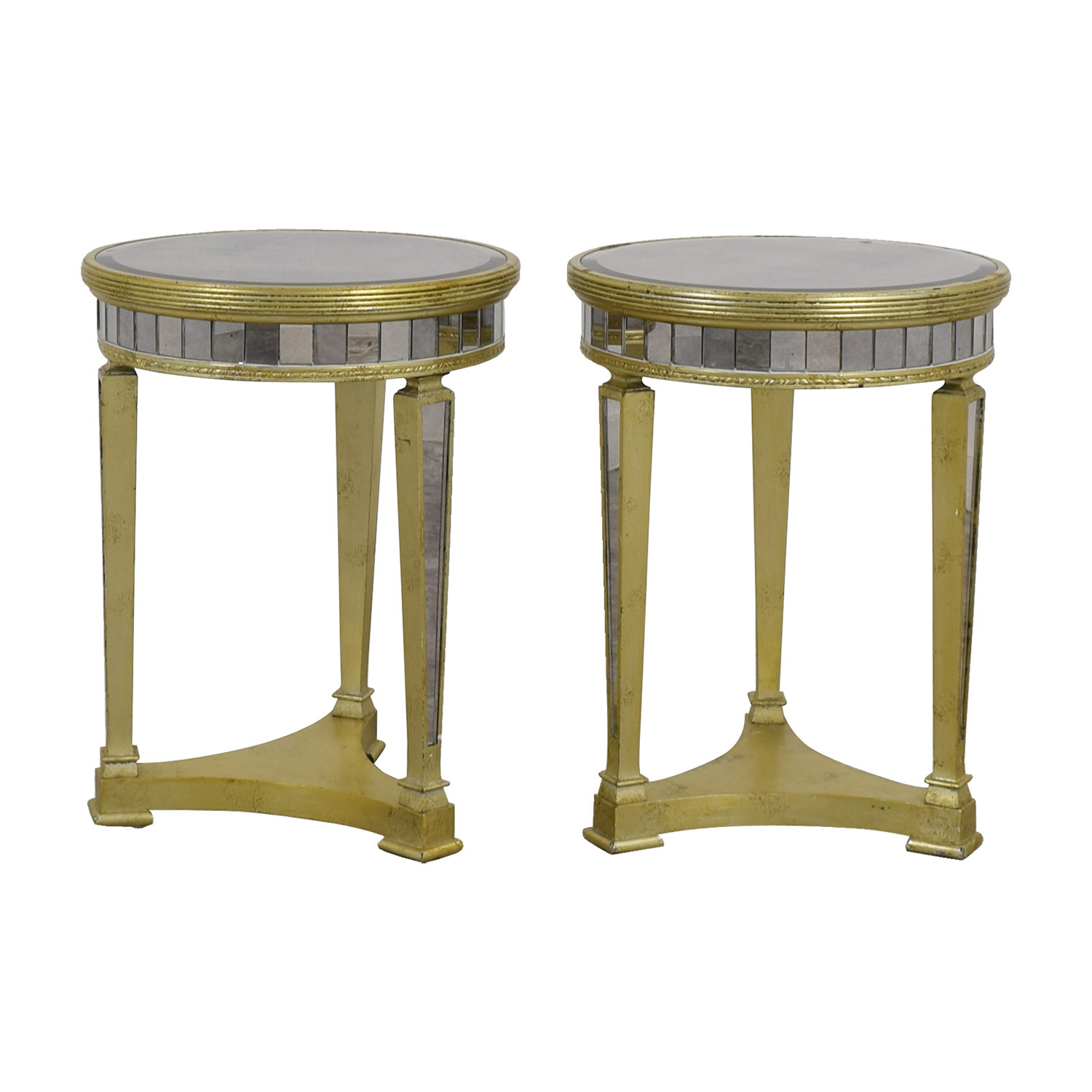 off galleries borghese mirrored side tables gallerie accent table small teal contemporary wood coffee designer white inexpensive nautical lamp shades pier one wall art piece