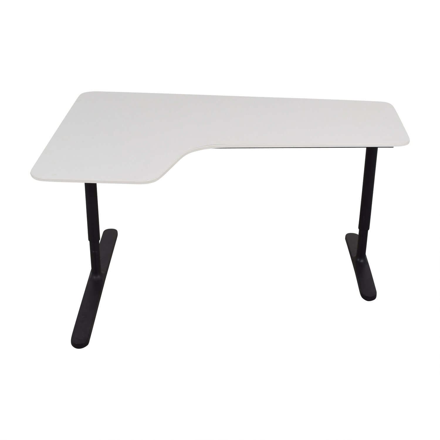 off ikea bekant white left corner desk tables used accent table sectional patio furniture waterproof garden covers propane fire pit cast aluminum end bath and beyond salt lamp
