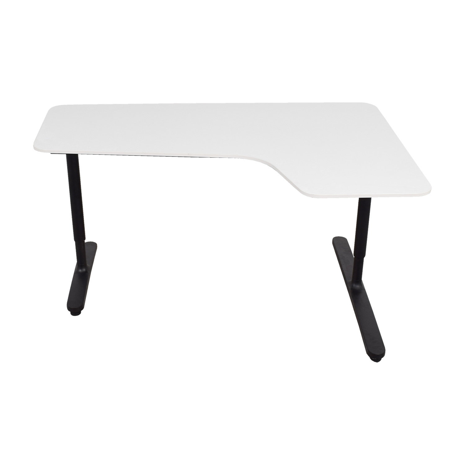 off ikea bekant white right corner desk tables used accent table end for small rooms waterproof garden furniture covers bath and beyond salt lamp low metal coffee nightstand