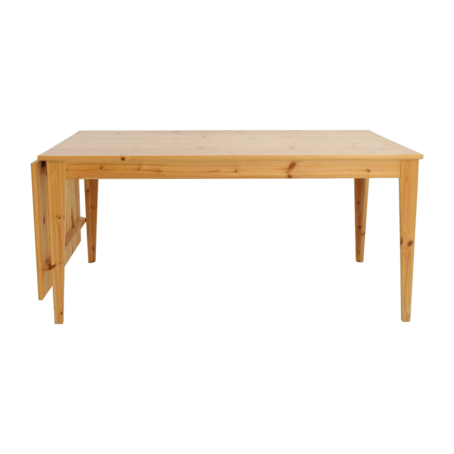 off ikea norma pine wood drop leaf table tables normas accent dinner pier one bedding reclaimed barn door target teal cabinet furniture auckland white trunk coffee end under