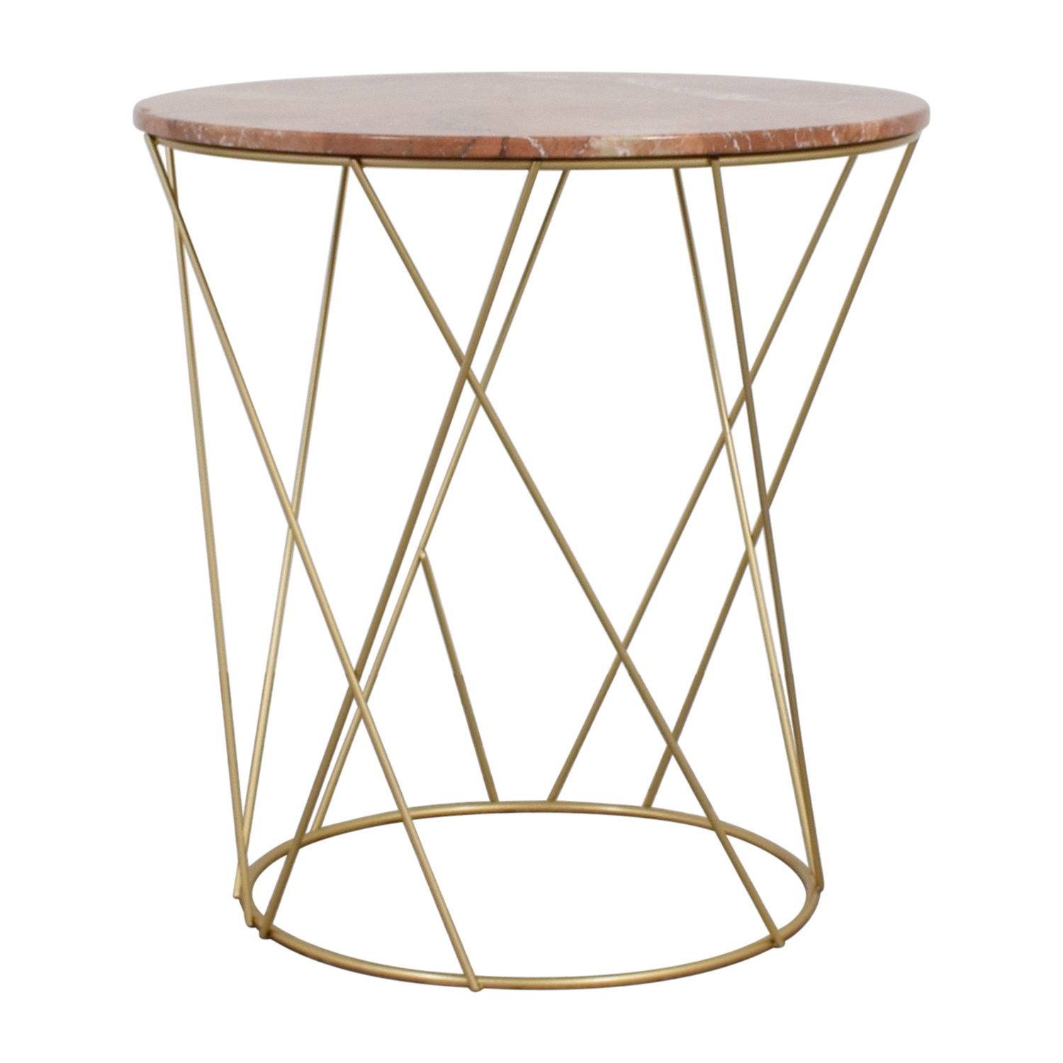 off lotus pink gold round marble table tables accent corner for bedroom tall metal end outdoor protector glass dining and chairs nautical lighting long narrow room decorative