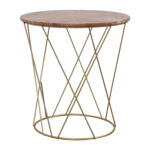 off lotus pink gold round marble table tables second hand metal accent narrow shelf behind couch pier one nesting bronze patio side small blue black cube outdoor furniture 150x150