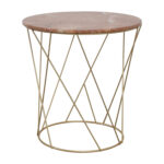 off lotus pink gold round marble table tables used metal accent bedroom furniture chairs monarch hall console cappuccino small desks for spaces blue lamp shade pier one nesting 150x150
