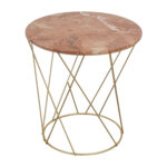 off lotus pink gold round marble table tables used metal accent target storage furniture couch feet black gloss coffee bar chairs armless chair bench silver moroccan drum bronze 150x150