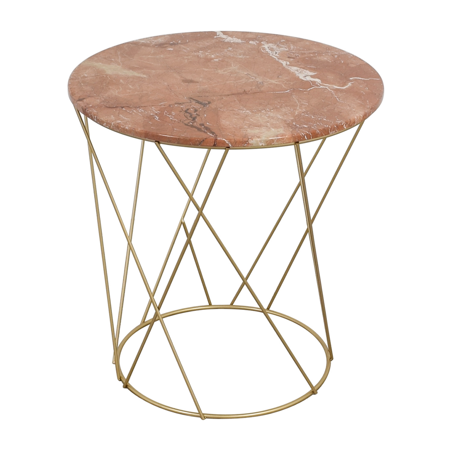off lotus pink gold round marble table tables used metal accent target storage furniture couch feet black gloss coffee bar chairs armless chair bench silver moroccan drum bronze