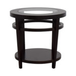 off macy avalon round wood and glass side table tables macys accent kitchen mats nesting coffee driftwood blue end leg ideas decoration pieces for drawing room wedge shaped hall 150x150