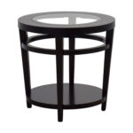 off macy avalon round wood and glass side table tables macys second hand accent nyc west elm storage bench small garden cover pier imports furniture beach kitchen decor nesting 150x150