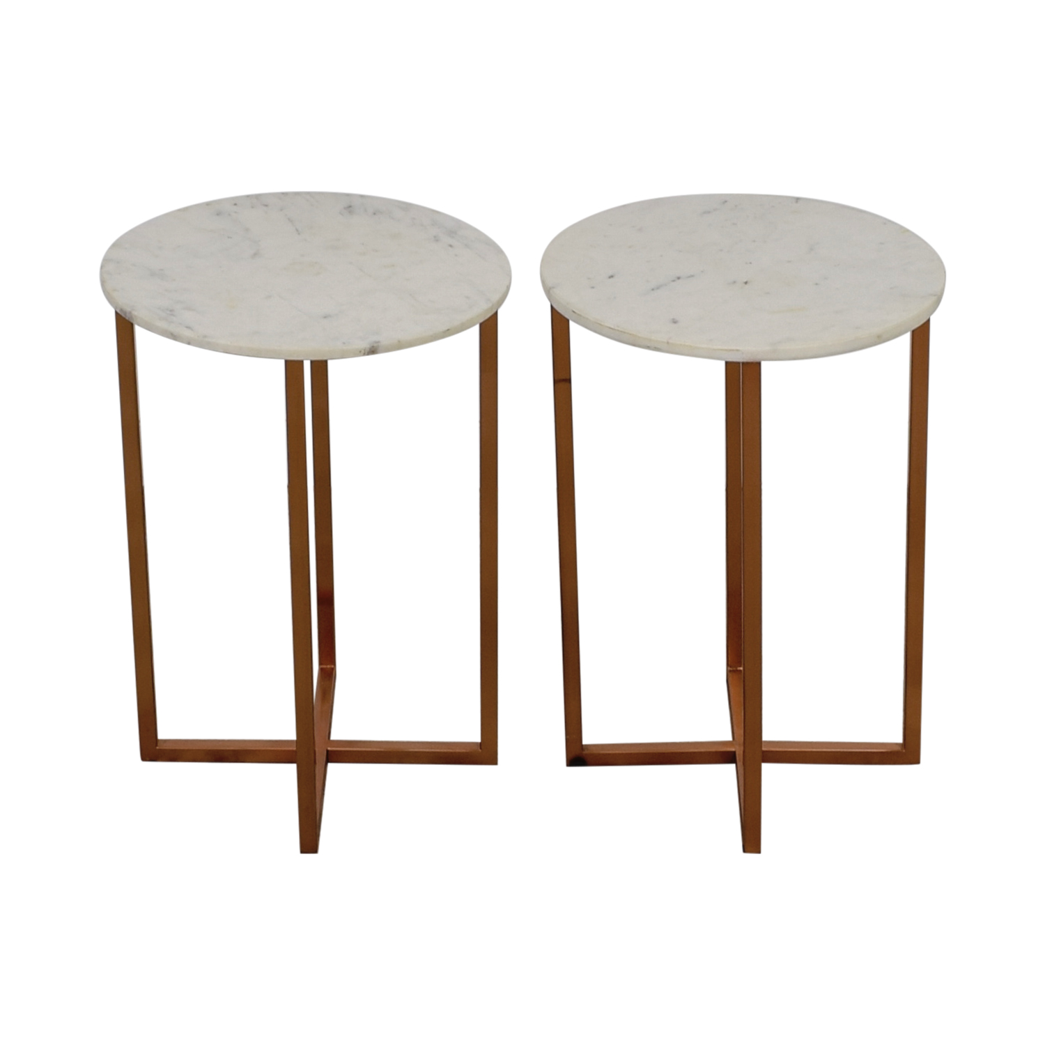 off marble top copper accent tables used table end white with drawer live edge brown threshold casual dining sets bbq grill animal print chair wood and iron coffee signy drum long