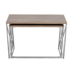 off monarch rustic nesting console tables used accent table grey small chest granite top coffee and end vintage retro furniture plastic cloth drum stool base elm flooring chair 150x150