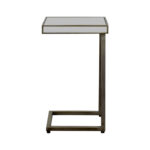 off pier imports hayworth silver table mirror mirrored accent small wood coffee cool retro furniture glass top white cube black and lamp reclaimed pub patchwork runner patterns 150x150