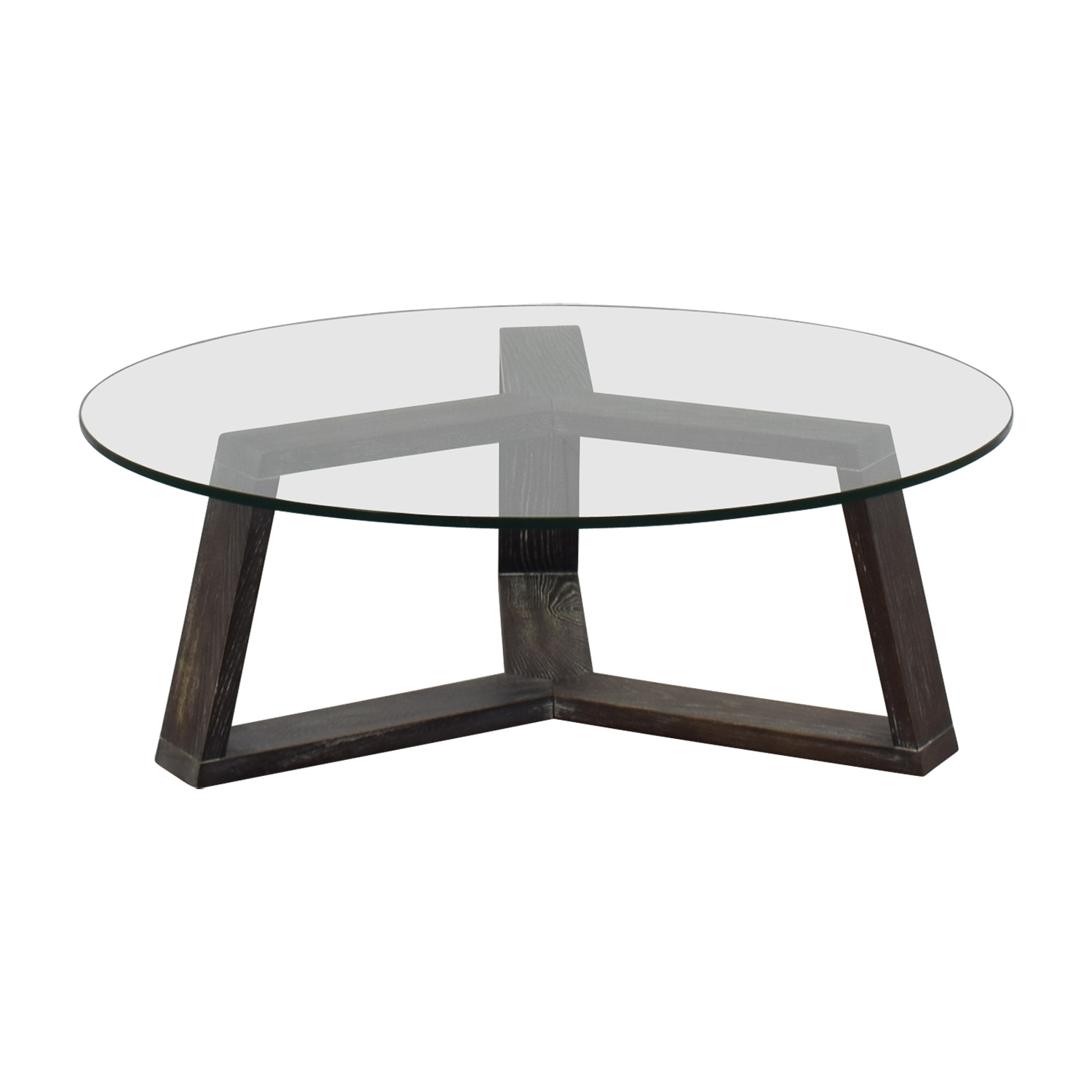 off platner style round glass and chrome coffee table tables wood cassie accent with shelf mats black metal outdoor end silver nesting sofa tile bistro hourglass threshold blue