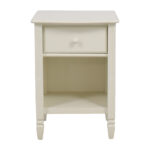 off pottery barn madeline white single drawer nightstand accent tables half side table tiffany inspired lamps nautical anchor lamp west elm antler quilted runner sectional modern 150x150