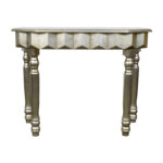 off rustic gold metallic console table tables second hand accent curved patio umbrella behind couch circular cover rose side narrow black end drummer stool with backrest square 150x150