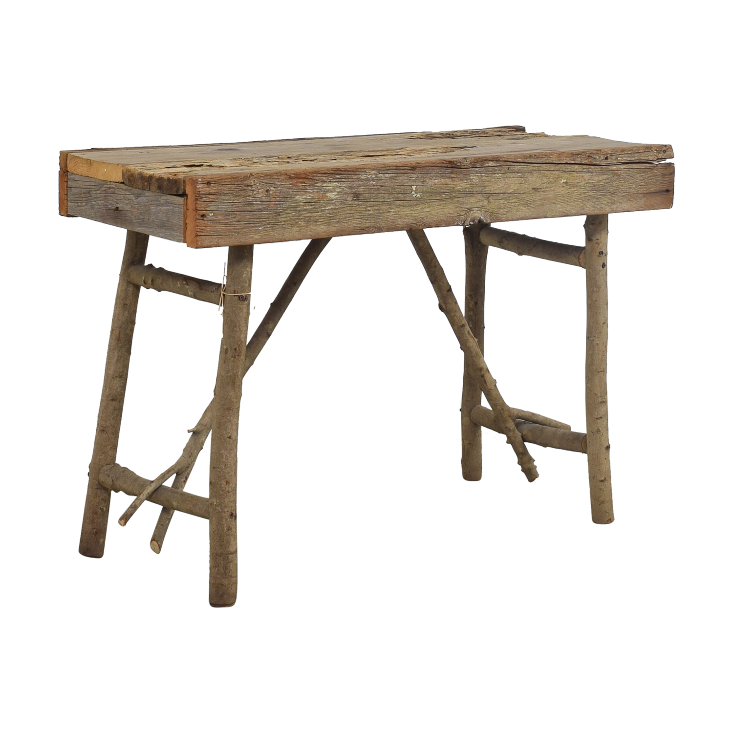 off rustic wood accent table tables second hand nyc iron nesting pier imports patio furniture console chest drawers pearl drum throne metal hairpin leg oak chairside end gold side