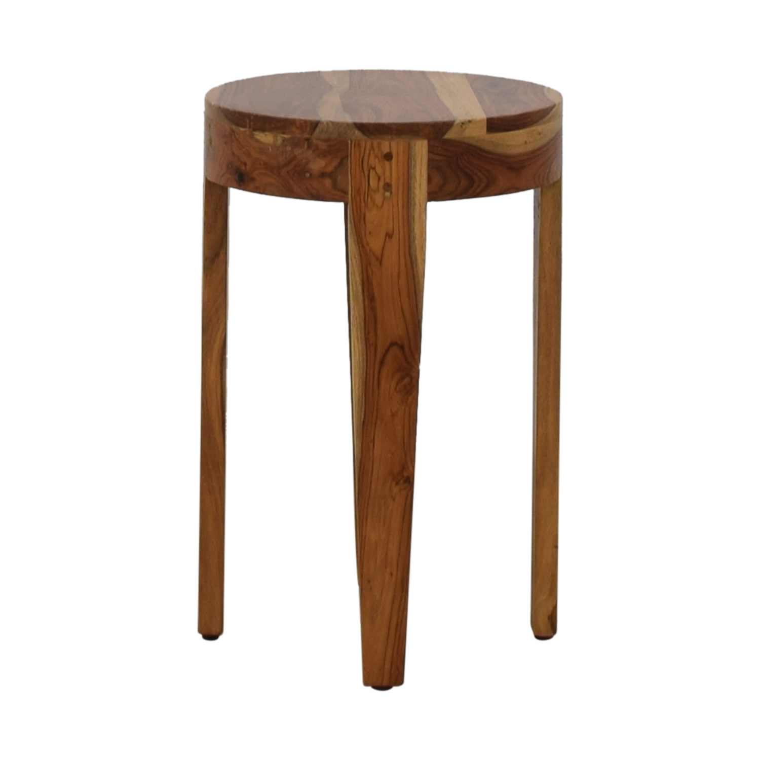 off target small round accent table tables second hand glass dining set mosaic outdoor furniture clearance reclaimed wood console pottery barn ethan allen counter stools dark