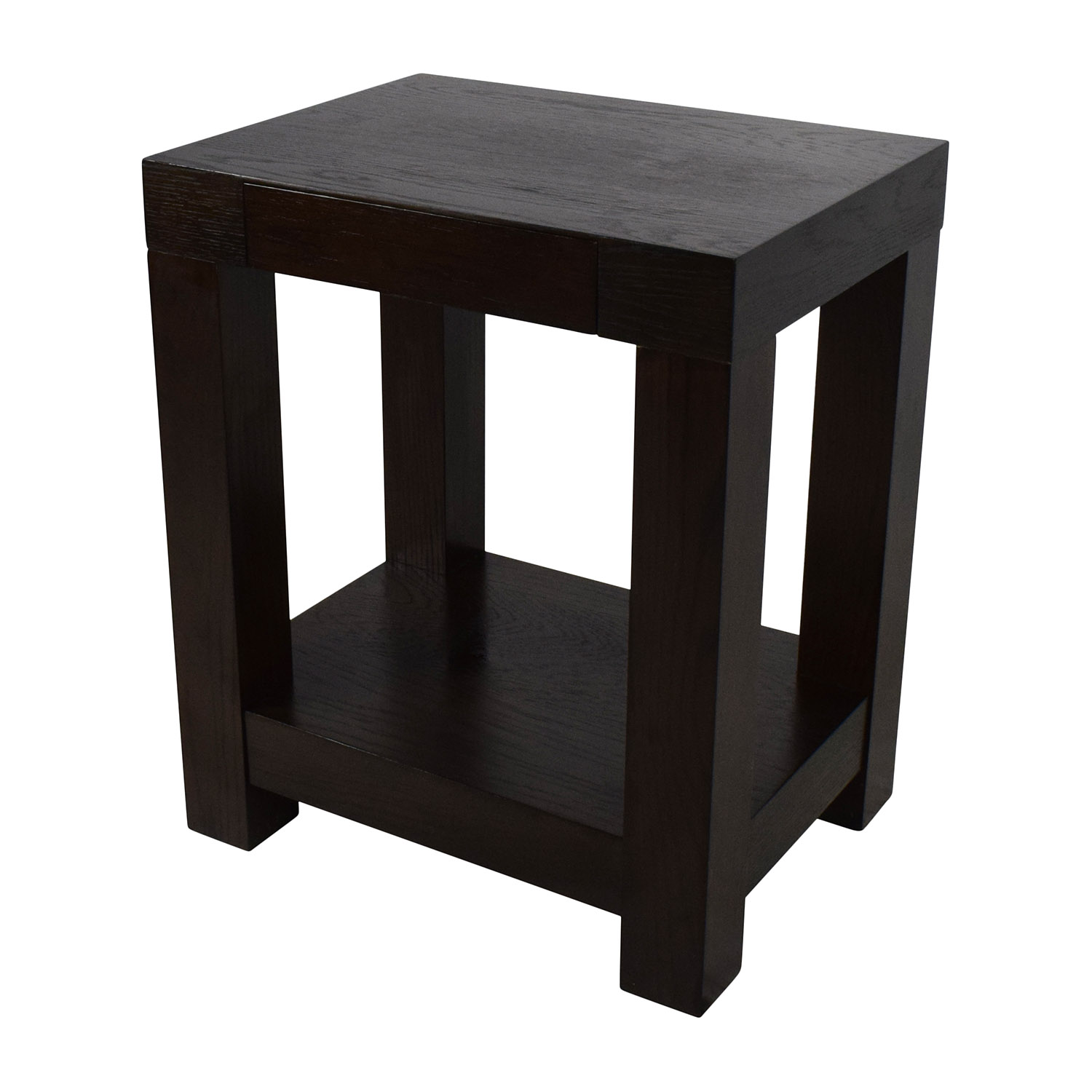 off west elm parsons end table tables black lacquer accent second hand urban home furniture cast iron patio storage chest round farmhouse cool ideas beverage cooler side beach