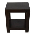 off west elm parsons end table tables used accent side with drawer pottery barn target kitchen oversized sectionals furniture toronto ellipsis tiffany lights half wall slim pub 150x150