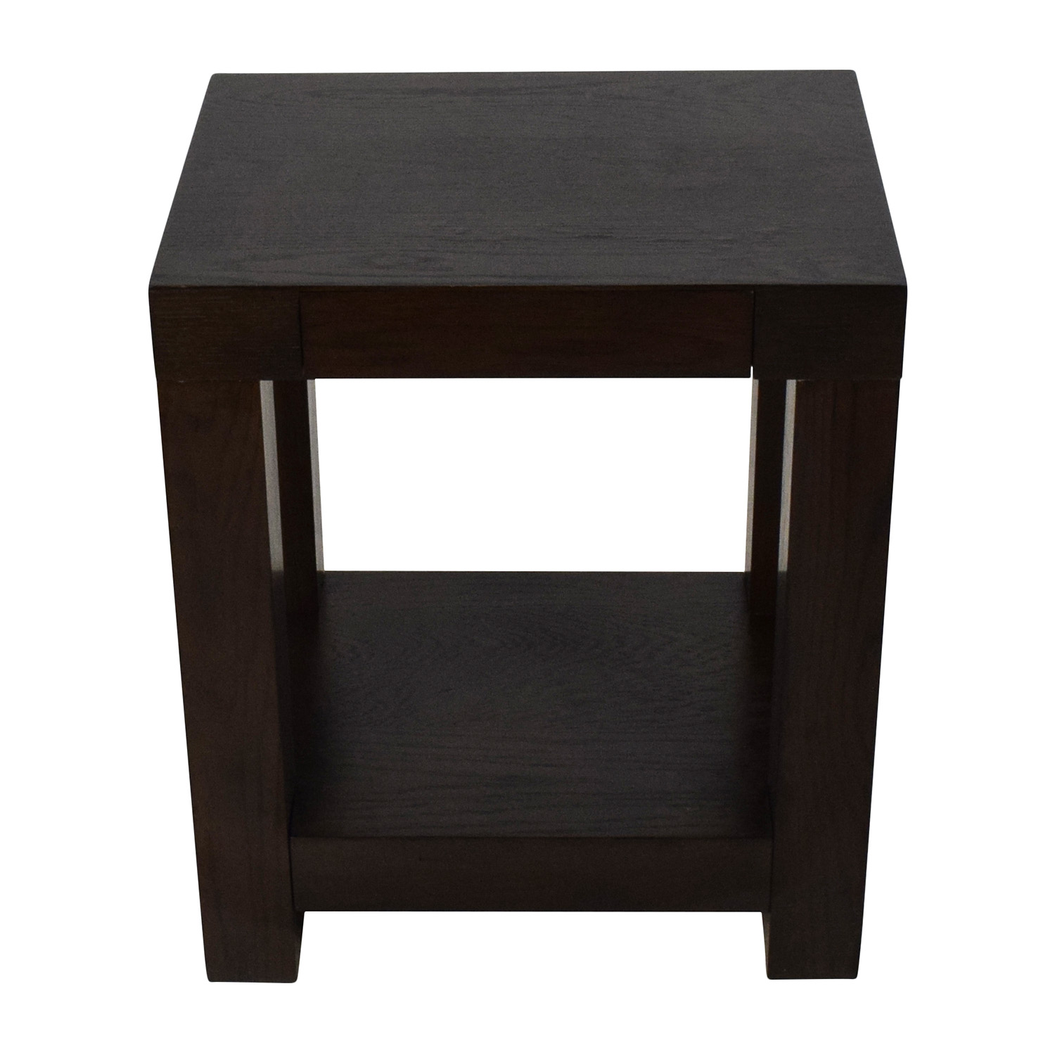 off west elm parsons end table tables used accent side with drawer pottery barn target kitchen oversized sectionals furniture toronto ellipsis tiffany lights half wall slim pub