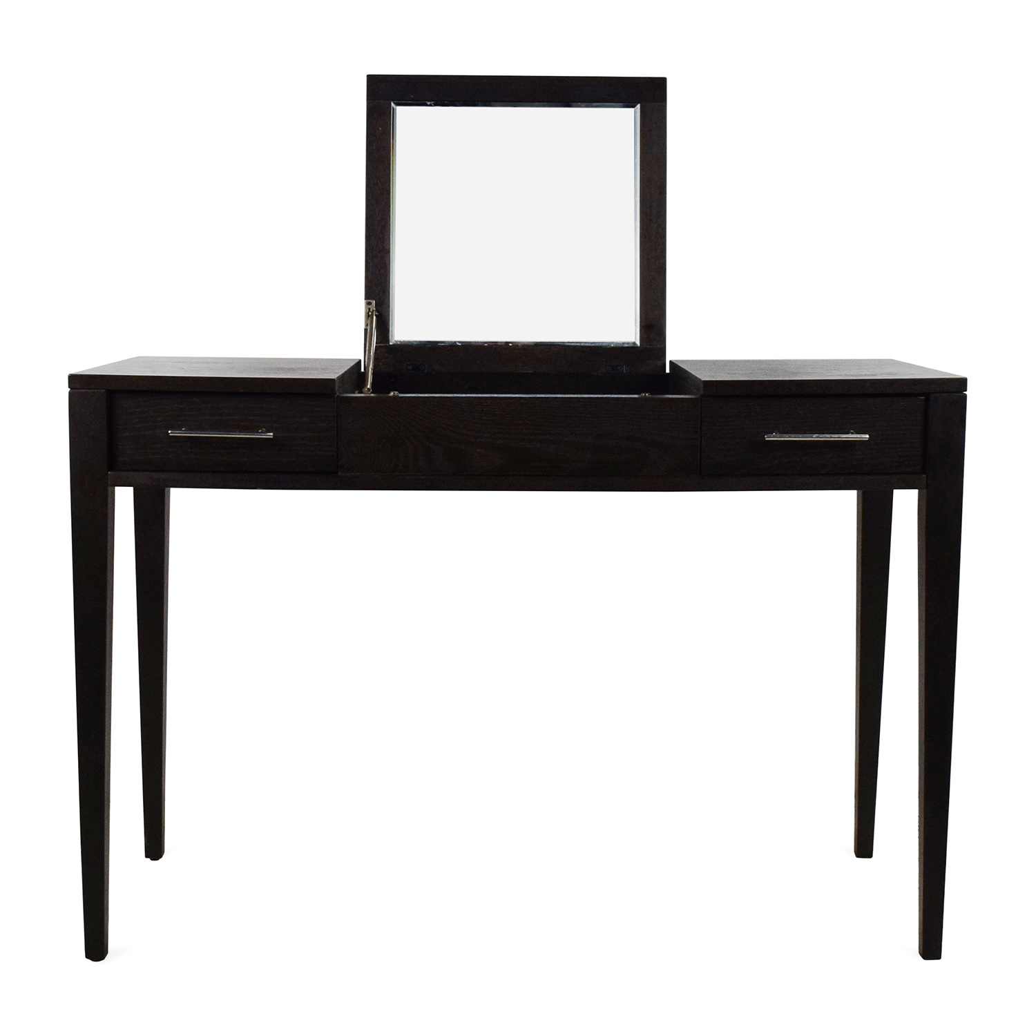 off west elm vanity table with mirror tables sell accent winsome wood ellipsis slim black bedside chairs for living room fine furniture edmonton ikea tall modern end cover square