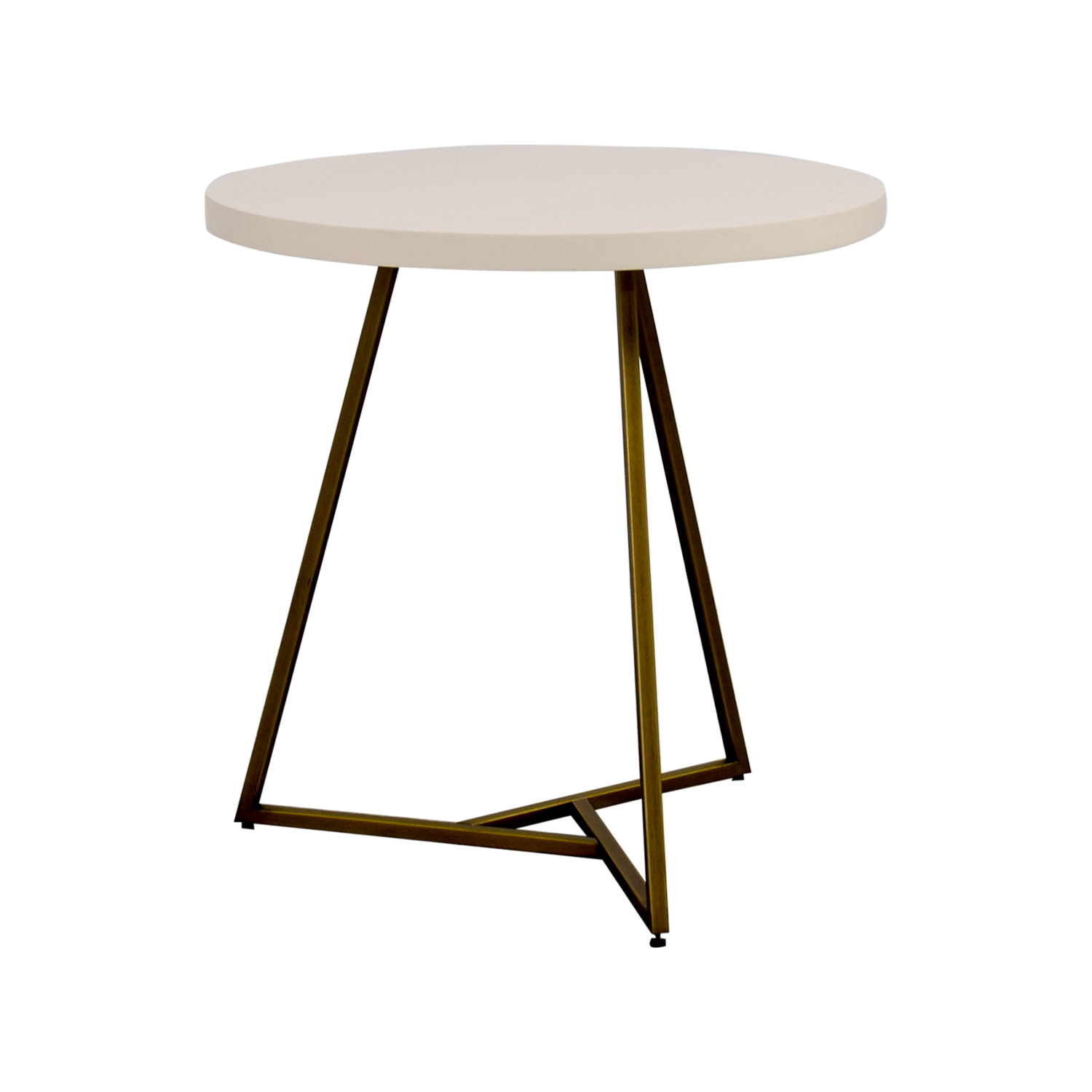 off west elm white lacquer top table tables second hand accent wilcox furniture extra wide console pink linens threshold yellow asian style floor lamps old small outdoor patio set
