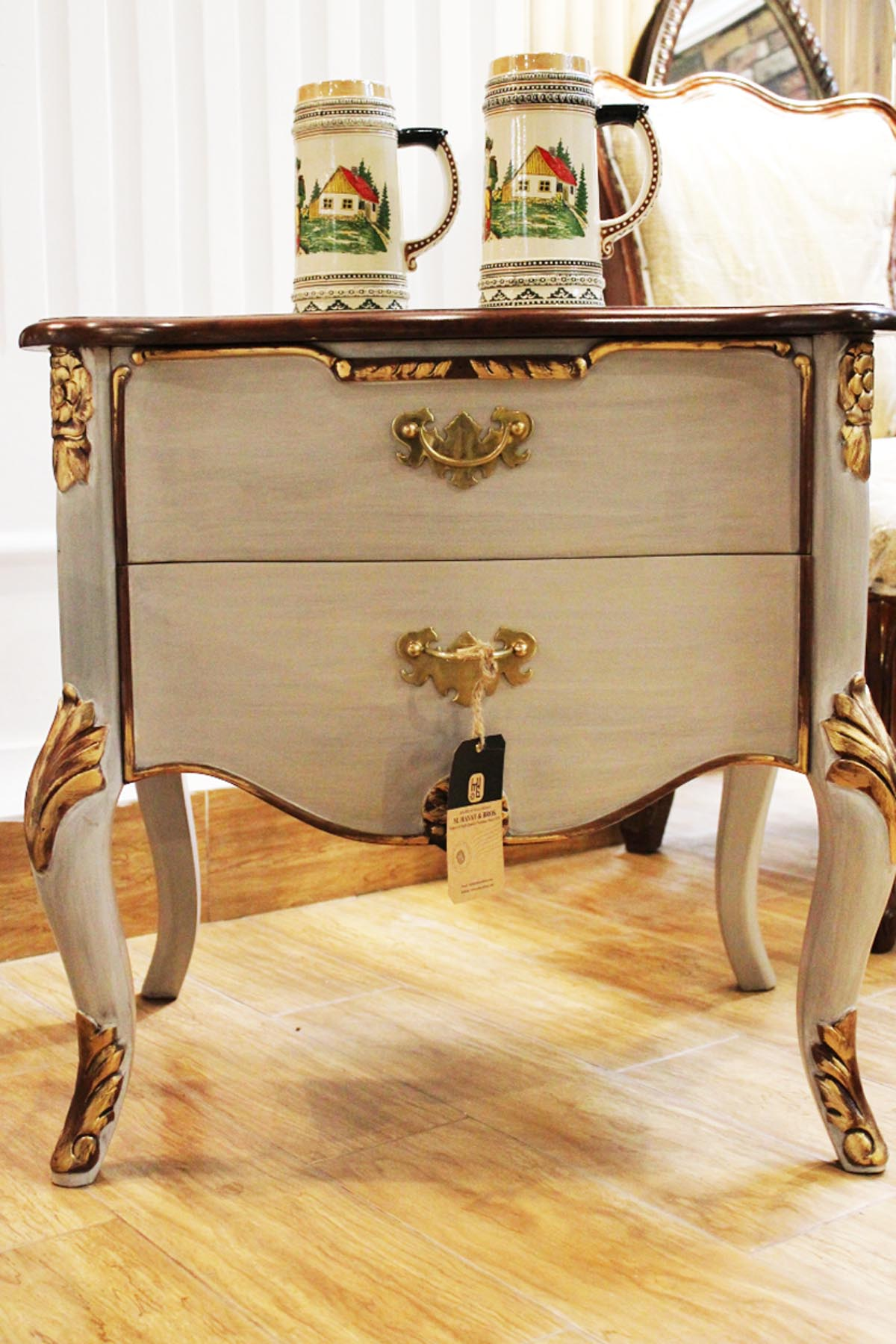 off white side table the best ture louis xiv gold safavieh janika accent hayat and bros nate berkus target chrome coffee set barn door closet doors cabinet telephone stand metal