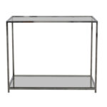 off wood bookshelf side table tables modern glass and chrome console metal accent sofa with shelf living room wall clock pottery barn sets small decorating ideas coffee uma mini 150x150