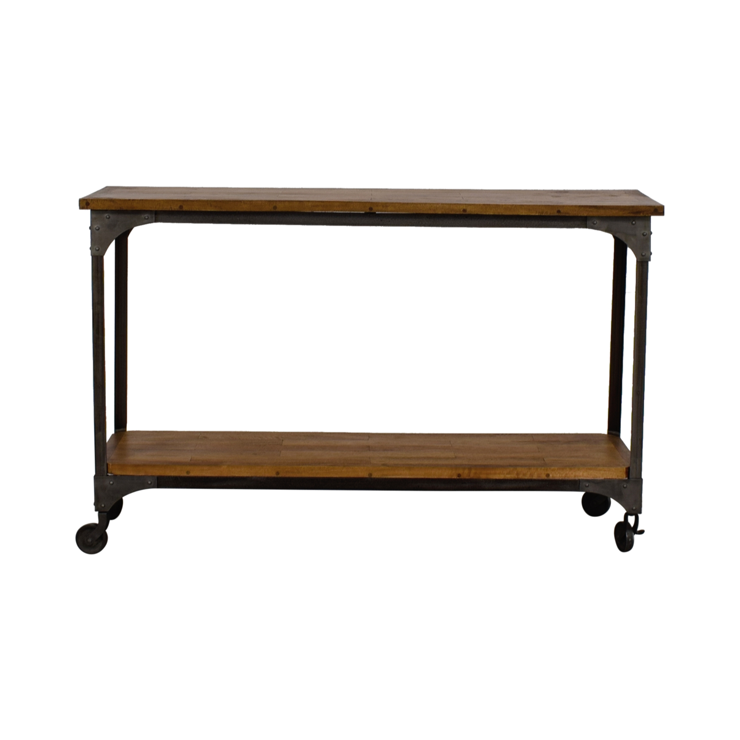 off world market aiden wood and metal console table accent tables black legs decorative outdoor side edison bulb lamp real marble gold coffee country decorating ideas rustic