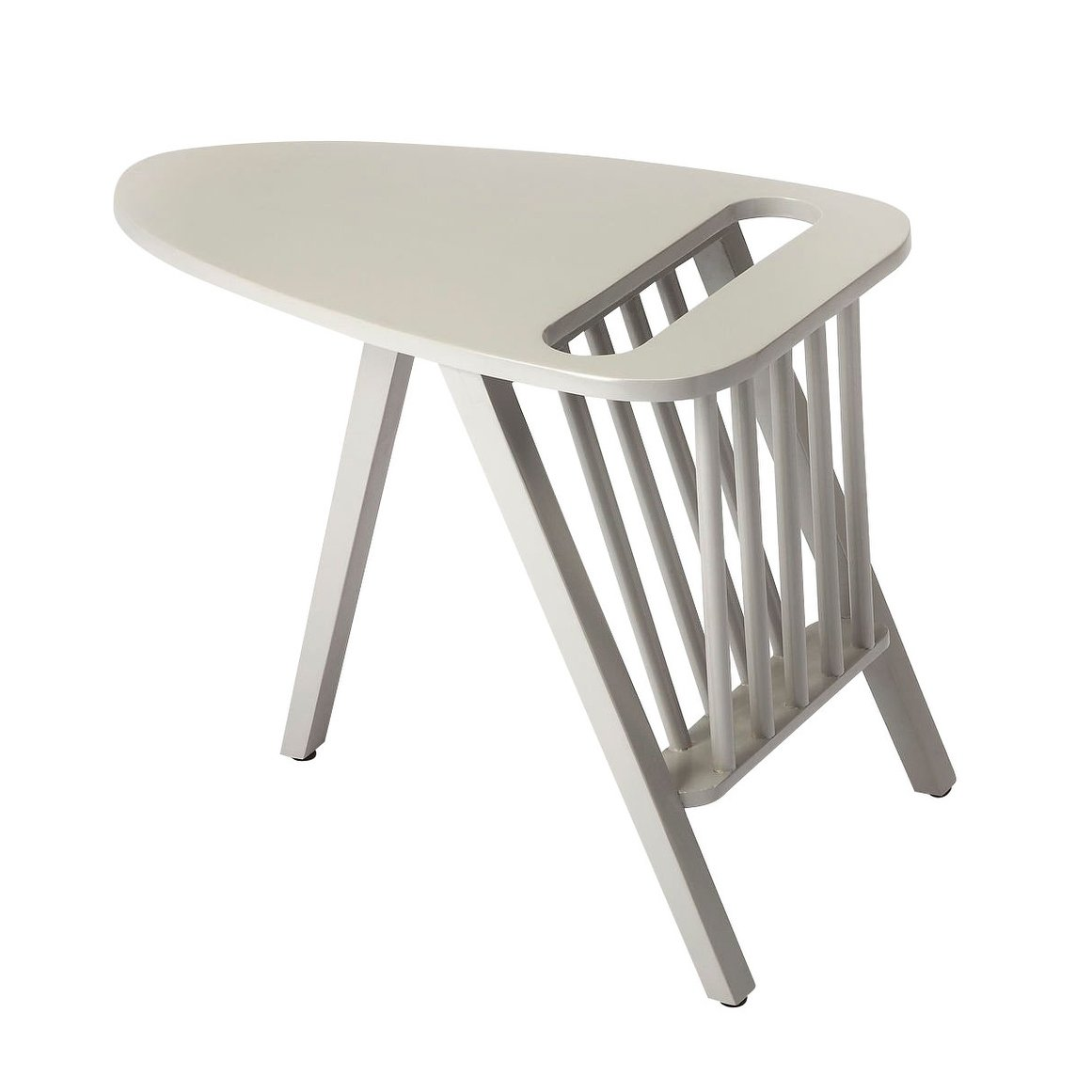 offex lowery solid wood gray accent table free shipping today white bedside cabinets long counter height high coffee patio umbrella base leick corner computer desk champagne