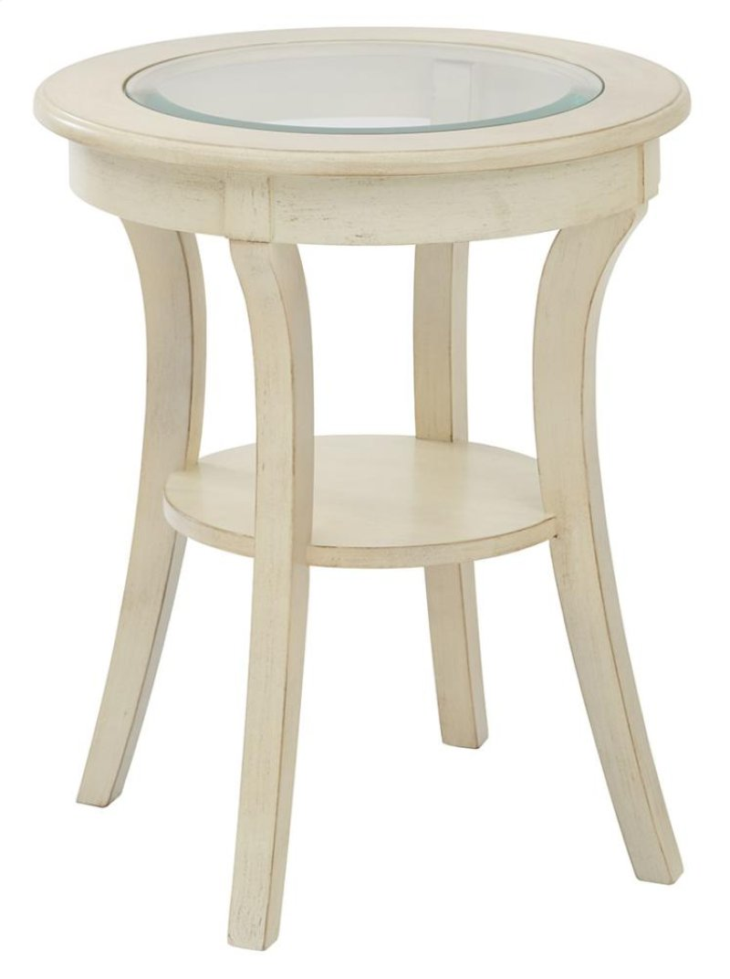 office star fort dodge harper round accent frsommniyehf white wood table with glass top and antique finish ships fully assembled ashley signature sofa gray end corner desk hutch