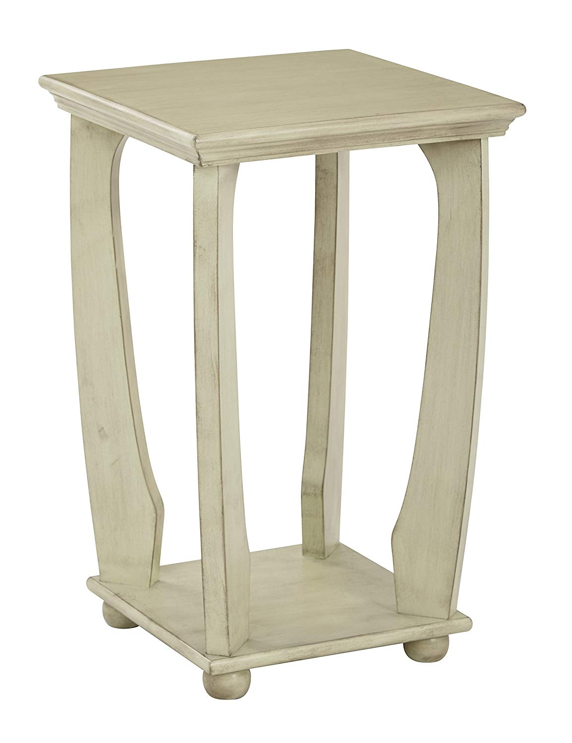 office star mila hand painted square accent table antique celadon finish kitchen dining pottery barn round glass coffee door room target corner desk pedestal foyer wood metal end