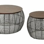 office star piece camden round metal accent tables wood table with top espresso kitchen dining small chest drawers contemporary nightstand lamps vintage brass side target and home 150x150