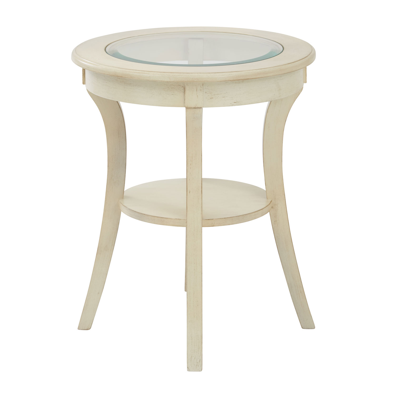 office star products harper antique white round accent table hover zoom decorative tablecloths small side for nursery pier vases gold rimmed coffee farmhouse style dining room