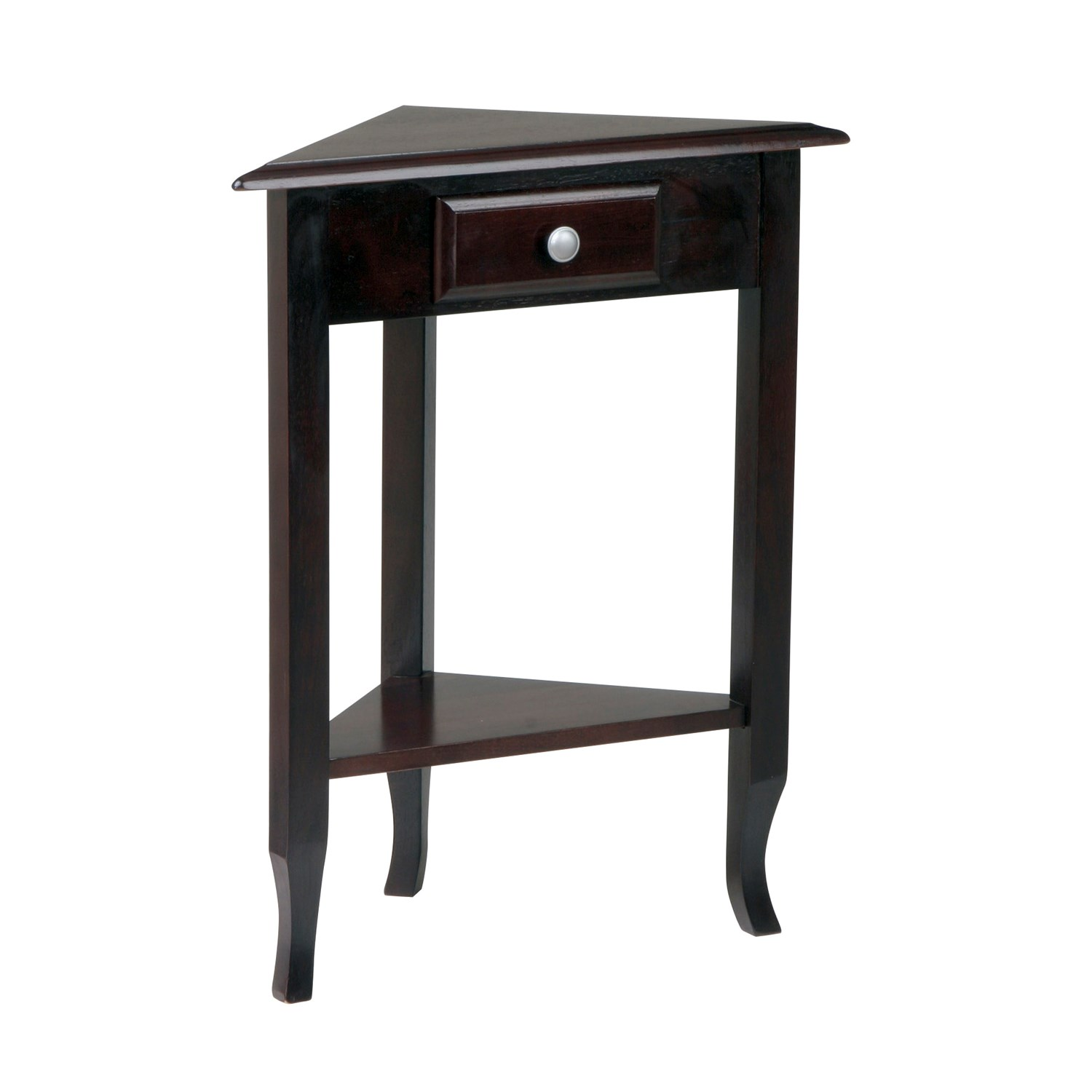 office star products merlot corner accent table with storage white kitchen bar wood pedestal end folding dining for small space side ideas living room round covers bedside tables