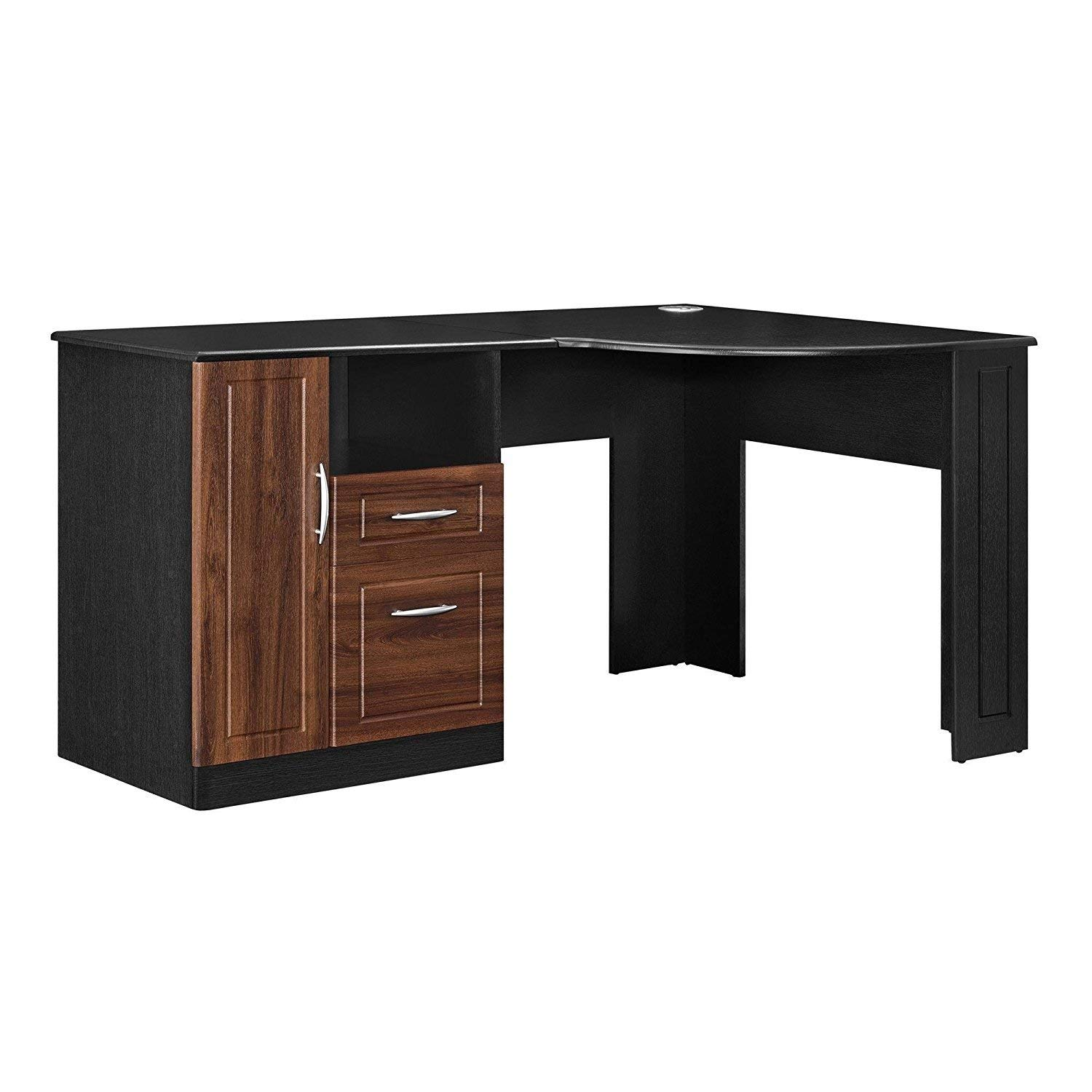 office table find corner accent black get quotations indoor multi function study computer home desk bedroom living room modern style small end with drawer pier wall decor bar