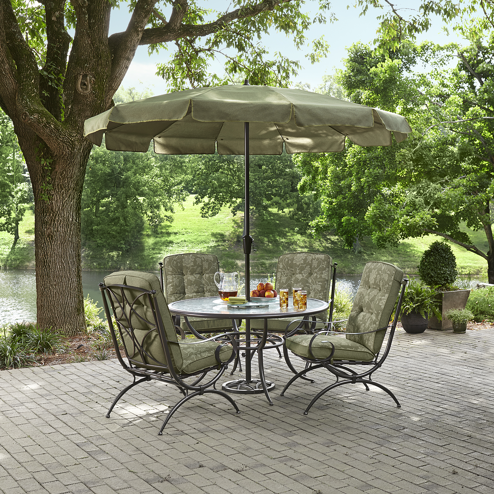 offset patio umbrella clearance kontiki shade cooling kmart furniturekmart outdoor furniture cushions accent table umbrellas round len graphy dining chairs bunnings small garden
