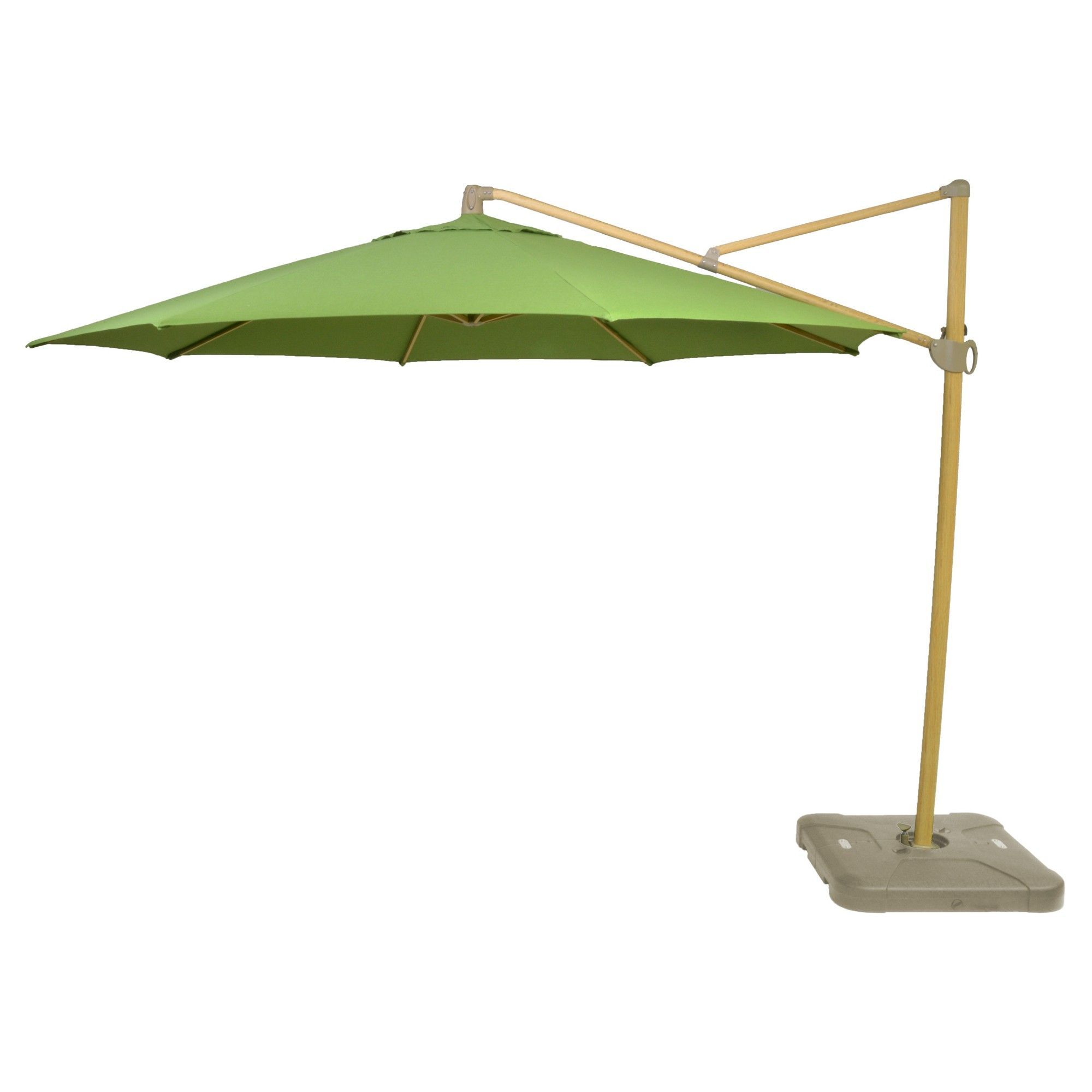 offset umbrella green light wood finish threshold accent table ikea standing mirror pier living room chairs dining mats west elm wall art stacking coffee tables target rugs