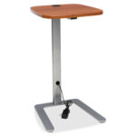 ofiacctabchy ofm acctabchy accent table with usb metal eyelet grommet high pressure laminate hpl cherry rectangle top width ashley furniture occasional set black glass and chrome 150x150