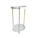 oliver marble tray double side table brass tables from evie accent with group mirror company cut crystal lamp home library furniture garden beer cooler retro bedroom hairpin legs 150x150