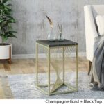 oliver modern faux marble accent table black kitchen gold dining acrylic snack outdoor coffee with umbrella hole tables edmonton rustic contemporary furniture bags outside storage 150x150