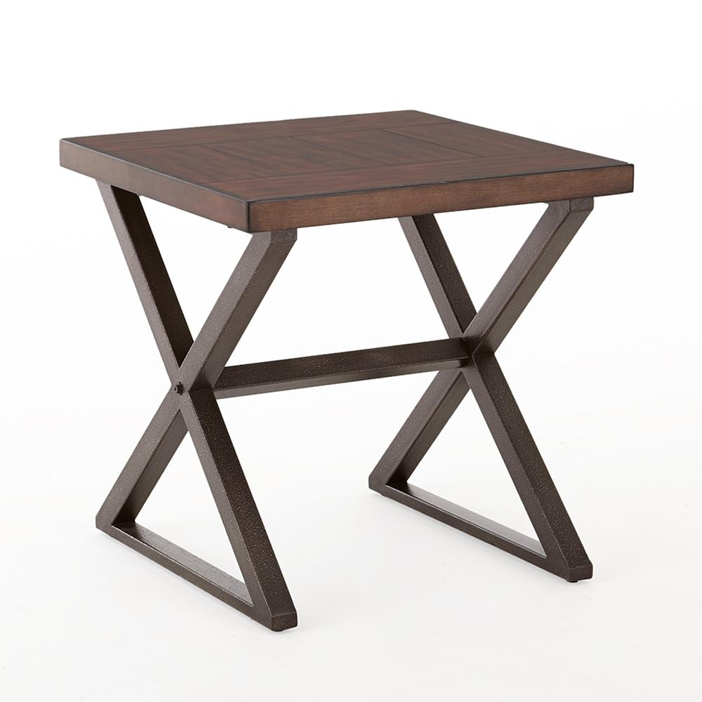 omaha dark cherry end table the tables room essentials trestle accent free fall runner quilt patterns ikea cocktail barn door kitchen cabinets small black occasional narrow wall