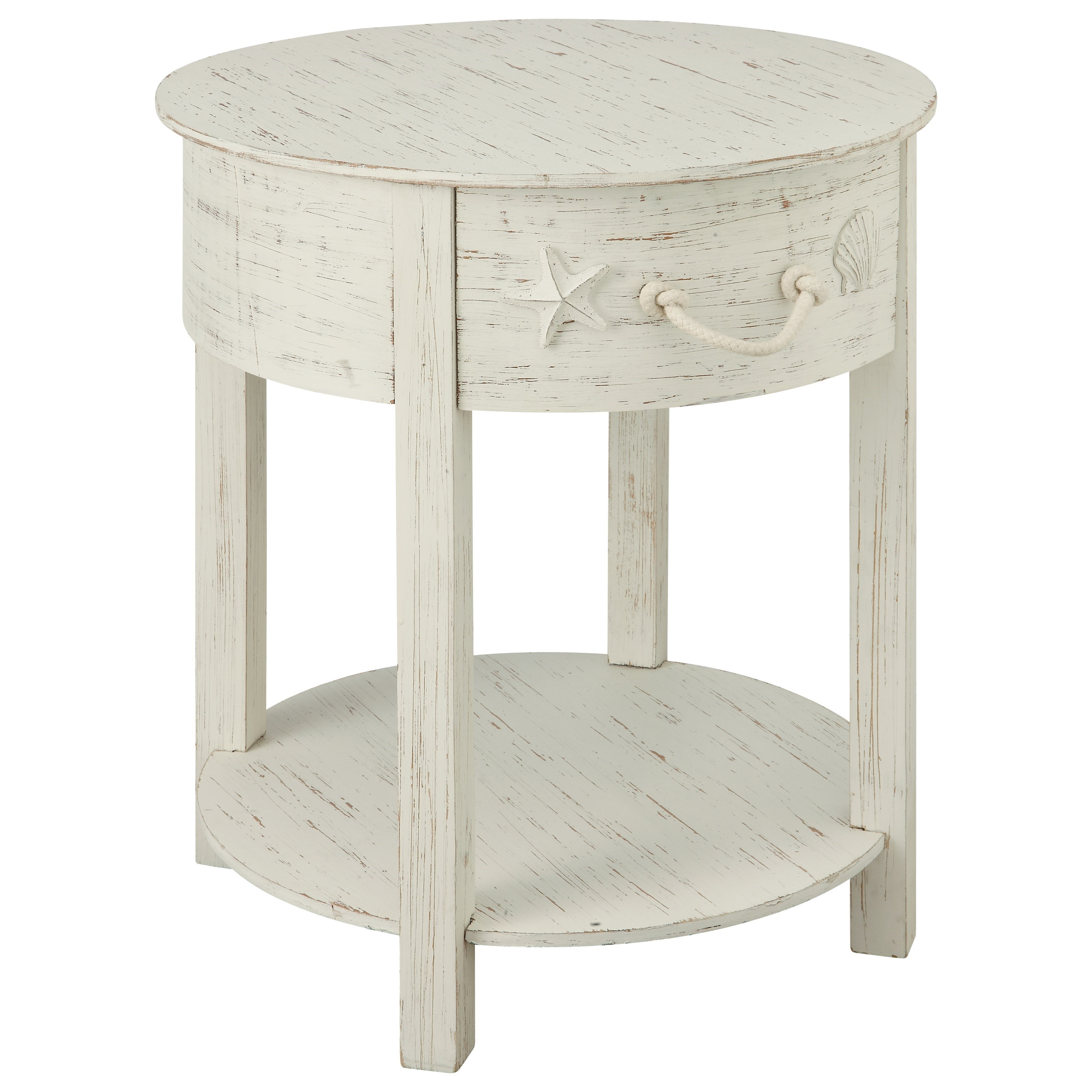 one drawer accent table coast imports wolf and products color sanibel white with drawers small cherry side marble coffee toronto wrought iron wood bedroom tables best living room