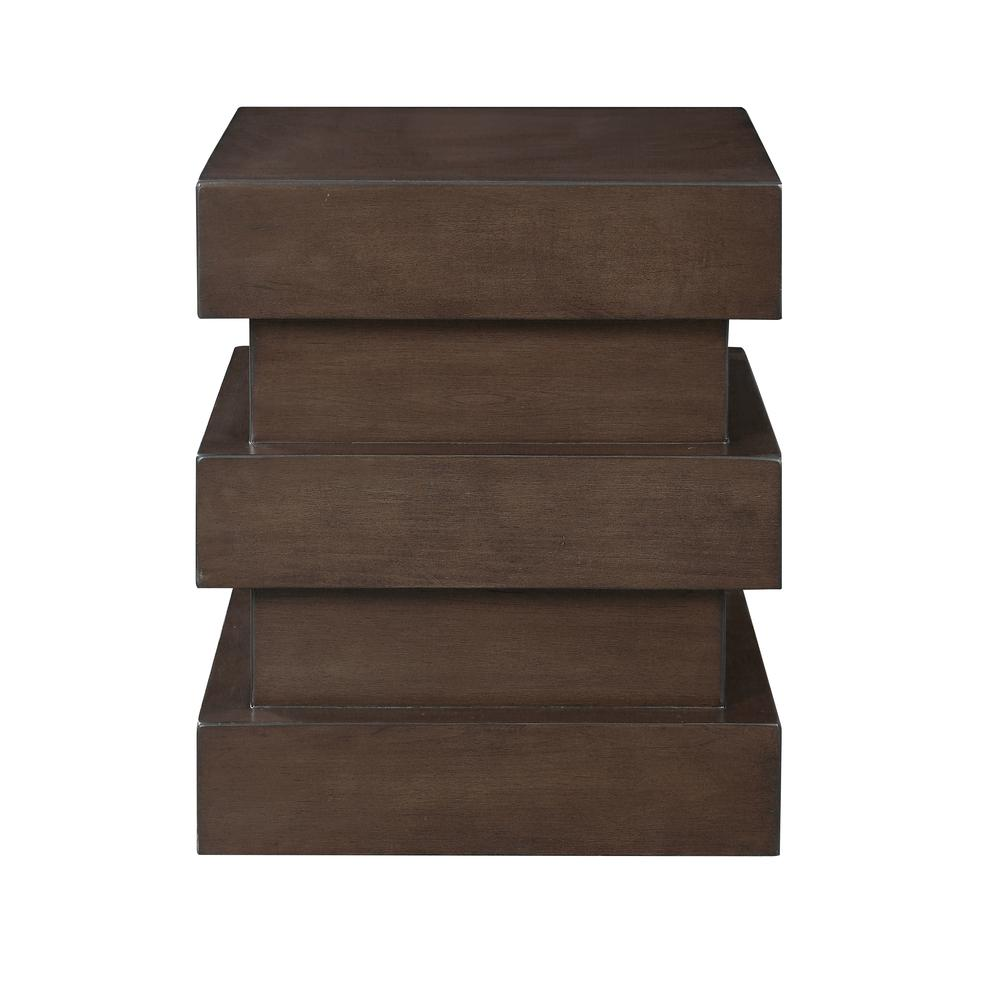 one drawer accent table halpern brown real wood end tables dale tiffany northlake lamp small contemporary white bedside unit square legs kitchen with bench peacock floor living