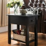 one source living side table with charging station accent tables black kitchen dining vintage french bedside modern mats extra thin console gold mirror oversized coffee west elm 150x150