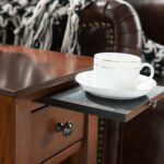 one source living sutton side table with charging accent tables station espresso kitchen dining vintage french bedside vanity home goods extra thin console ballard office 150x150