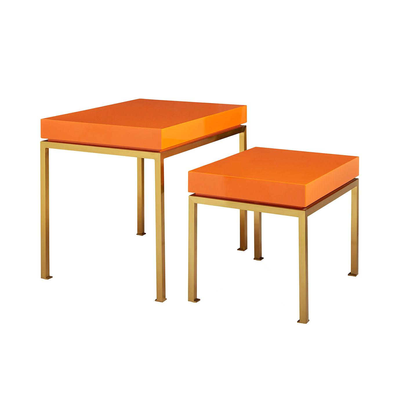 orange accent table ylg tall side alt outdoor metal patio clearance storage entryway furniture with mirror corner ikea target file cabinet hand painted dress mainstays marble