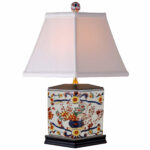 oriental furniture floral pencil table lamp imari accent lamps pottery barn beds oak side with shelf outdoor drum chest cupboard vintage brass coffee base round console storage 150x150