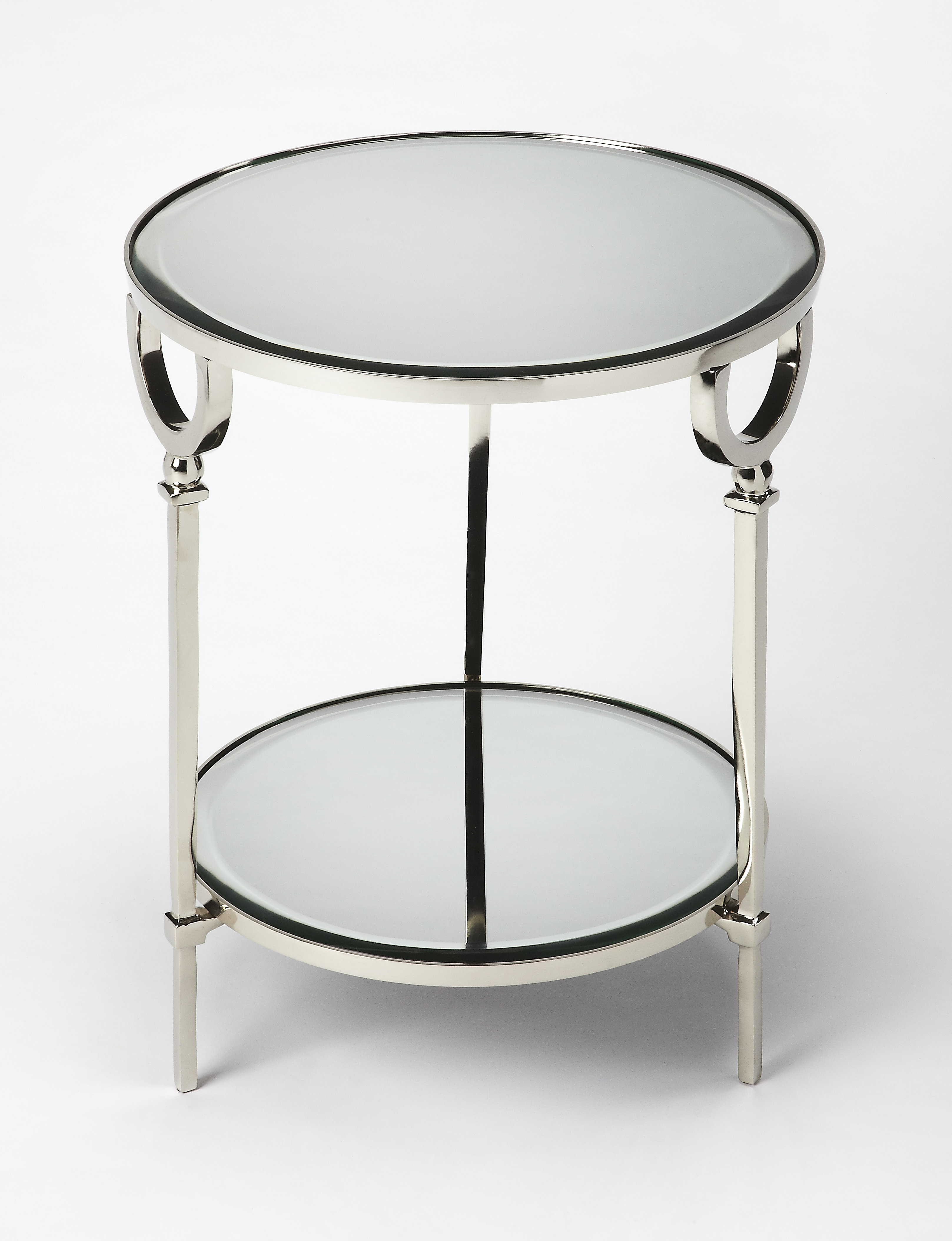 orren ellis corlett end table avalon round accent wedge shaped side navy blue console asian style lamps inch aluminium outdoor furniture silver mirrored ethan allen ballan coffee