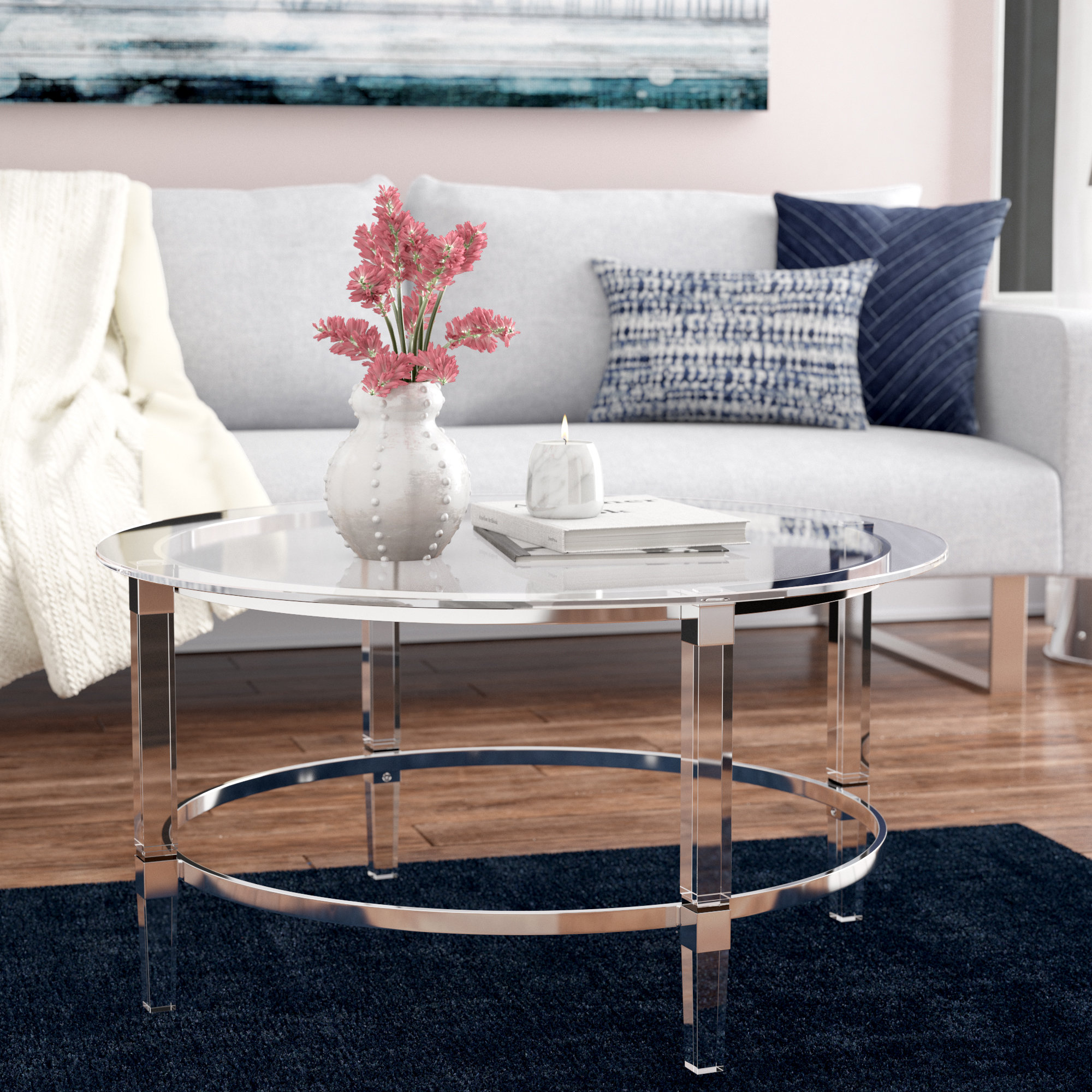 orren ellis lower vobster coffee table reviews glass lorelei accent white contemporary nautical dining room west elm pillar lamp dinette set long skinny tables black gold kmart